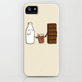 Milk + Chocolate iPhone Case