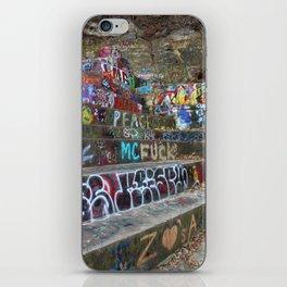 Graffiti in the wild iPhone Skin