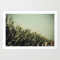 kansas Art Prints featuring Kansas by CMcDonald