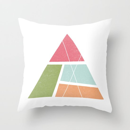 Triangular Throw Pillow