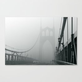 Grey St. Johns Canvas Print