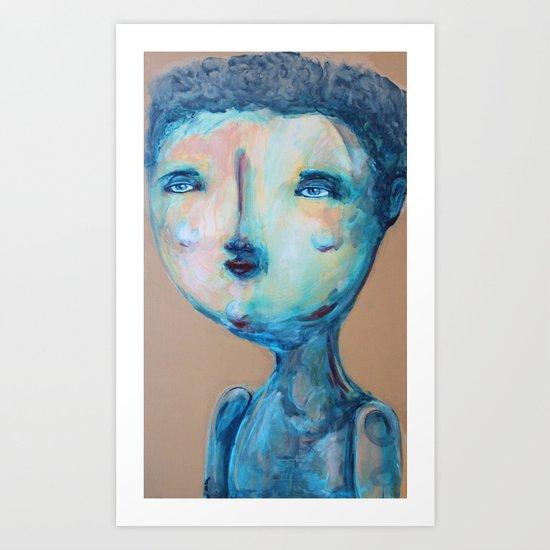 petit gars Art Print