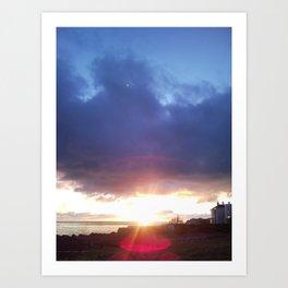 Sunrise in Dalkey Art Print