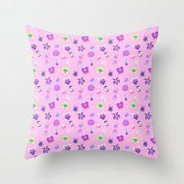 Sugar Witch Throw Pillow