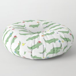 Alligator, Snail and Turtle Party - Children - 57 Montgomery Ave Floor Pillow