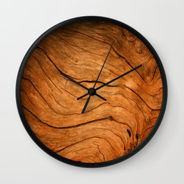 Wood Texture 99 Wall Clock