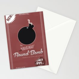 (un)Original Round Bomb Stationery Cards