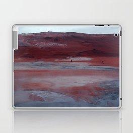 Icelandic red landscape Laptop & iPad Skin