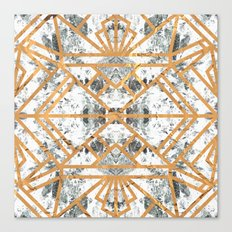 Marble Deco Shade One; Canvas Print