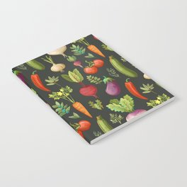 Garden Veggies Notebook