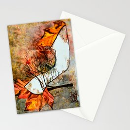 Fall in Art Stationery Cards
