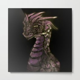 Of Scales and Shadows Metal Print