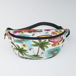 Summer surfing Fanny Pack