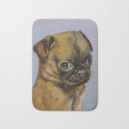 Pug Puppy Bath Mat