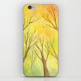 Autumn Forest II iPhone Skin