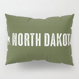 Deer: North Dakota Pillow Sham
