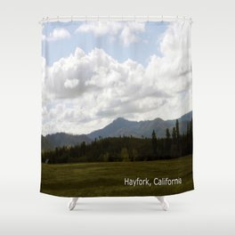 Cloudy Day in the Country... Shower Curtain