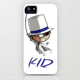 Kaito Kid Chibi iPhone Case
