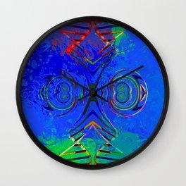 Spirals of Life Wall Clock