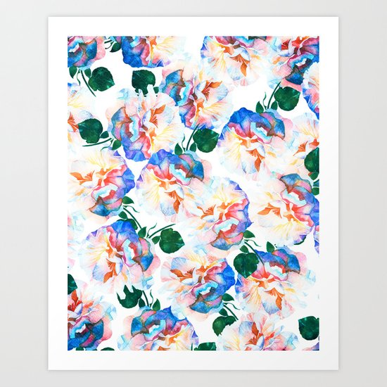 Wild Flora #society6 #decor #buyart Art Print