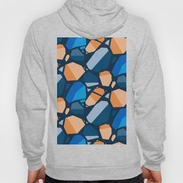 geometric, design, abstract, modern, decoration, tile, decorative, cover, geometrical, creative, squ Hoody