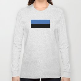 Flag of Estonia - Estonian,Eest,Baltic,Finnic,Sami, Skype,Arvo Part,Tallinn,Tartu, Narva,Snow, Cold Long Sleeve T-shirt