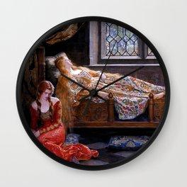 "John Collier ""The Sleeping Beauty"" Wall Clock"