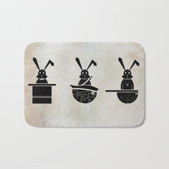 rabbits Bath Mat
