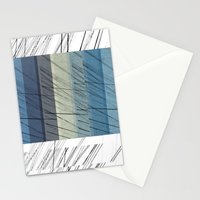 Blues Arrangement Stationery Cards