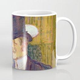 "Henri de Toulouse-Lautrec ""The Englishman (William Tom Warrener, 1861–1934)"" Coffee Mug"