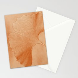 Gingko Leaf Stationery Cards
