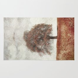 sorbus in autumn Rug