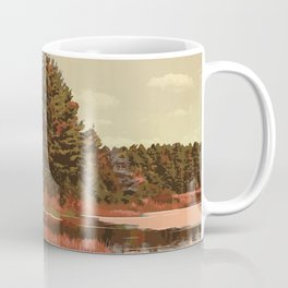 Grundy Lake Provincial Park Poster Coffee Mug