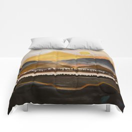 Pure Wilderness at Dusk Comforters