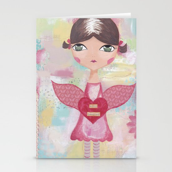 Kind hearted Stationery Cards