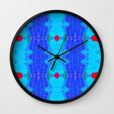 Marina II - Abstract Painting Wall Clock