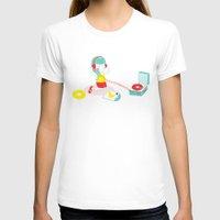 vinyl T-shirts featuring Vinyl by Samantha Eynon
