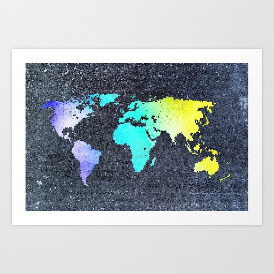 The World Belongs to you Art Print
