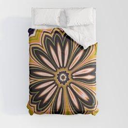 Floral message #2 Comforters