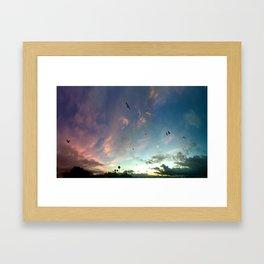 NOHO SUNRISE Framed Art Print