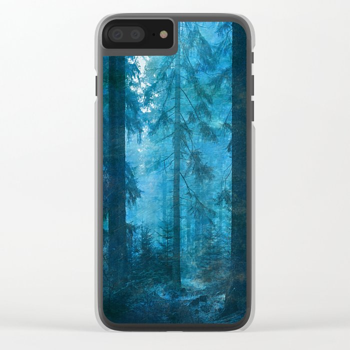 Amazing Nature - Forest 2 Clear iPhone Case