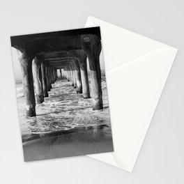 Manhattan Beach Pier   Manhattan Beach Photography   Manhattan Beach Art   Manhattan Beach Print Stationery Cards