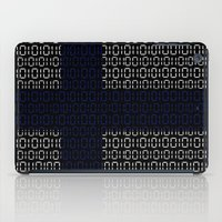finland iPad Cases featuring digital Flag (Finland) by seb mcnulty