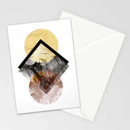 Geometric Composition 5 Stationery Cards