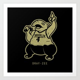 PokéRappers: Dray-Zee Art Print