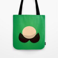 Green Face Tote Bag