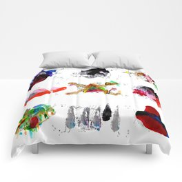 9 abstract rituals Comforters