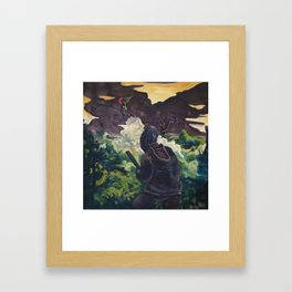 Witch Hunter Framed Art Print