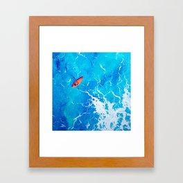 Kayak-Itti-Yak Framed Art Print