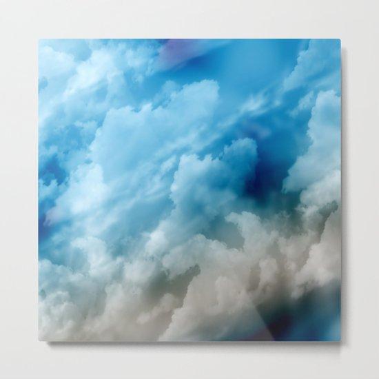 Clouds 2 Metal Print